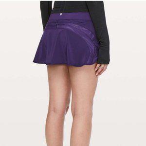 Lululemon Purple Photo Finish Skirt Size 10 NWT